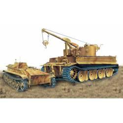 Bergepanzer Tiger I. PzAbt.508.
