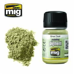 Pigmento polvo del Sinaí. 35 ml.