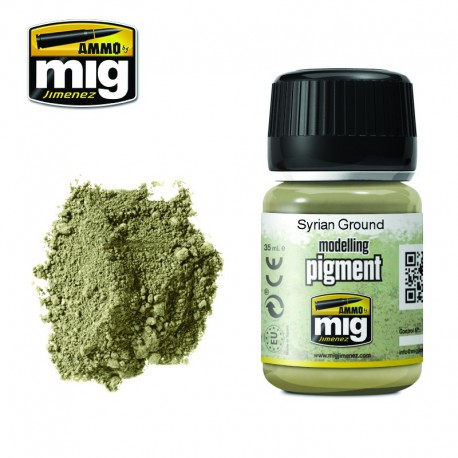 Pigmento suelo sirio. 35 ml.