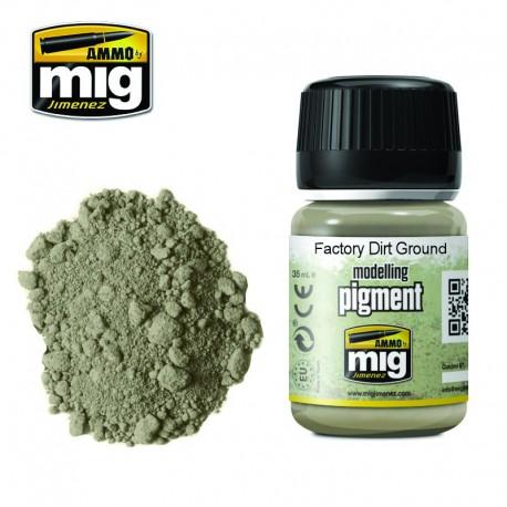 Pigmento suciedad suelo industrial. 35 ml.