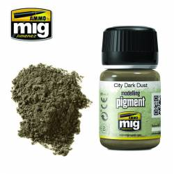 Pigment - City dark dust. 35 ml.