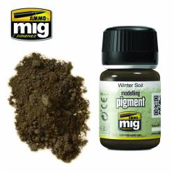 Pigment - Winter soil. 35 ml.