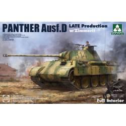 Panther Ausf.D, última producción.