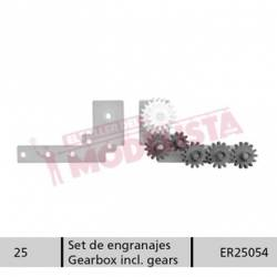 Gearbox with gears for RENFE 352.