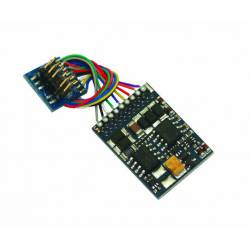LokPilot V4.0 multiprotocol decoder, Plux12.