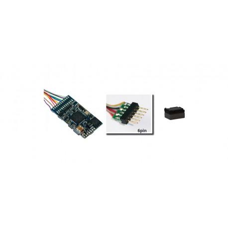 Decoder Loksound 5, 6 pins.