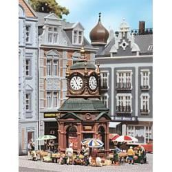 Clock kiosk.