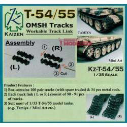 Cadenas para T-54 y T-55.