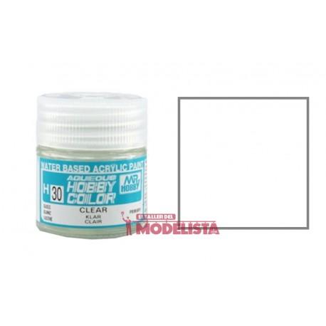 Gloss clear 10 ml. Gunze Sangyo. HOBBY COLOR H030