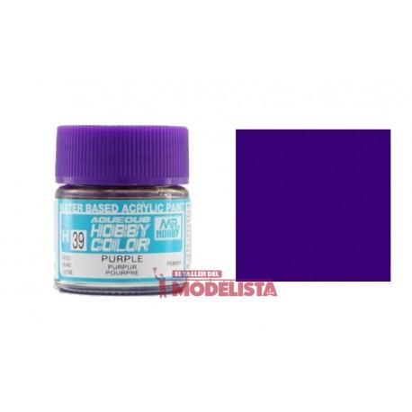 Purple 10 ml. Gunze Sangyo. HOBBY COLOR H039