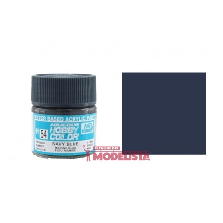 Azul marino 10 ml. Gunze Sangyo. HOBBY COLOR H054
