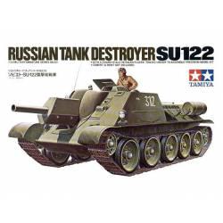 ISU-122 russian tank destroyer.