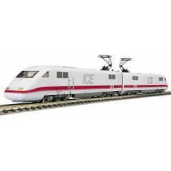 Tren Intercity ICE DB. Dos cabezas tractoras. FLEISCHMANN 7440