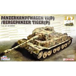 Panzerkampfwagen VI / Bergepanzer Tiger.