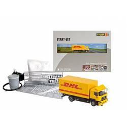 Car System Start-Set DHL lorry. FALLER 161607