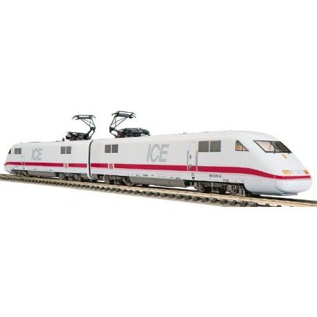 Tren Intercity ICE DB. Dos cabezas tractoras. FLEISCHMANN 7450