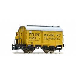 "Vagón fudre ""Felipe Marin"". NORTE."