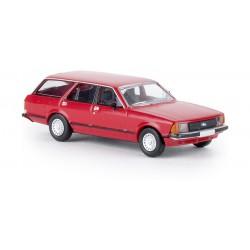 Ford Granada II Turnier, rojo.