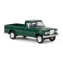 Jeep Gladiator, verde metalizado.