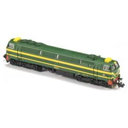 Locomotora 333-022, RENFE. Sonido.