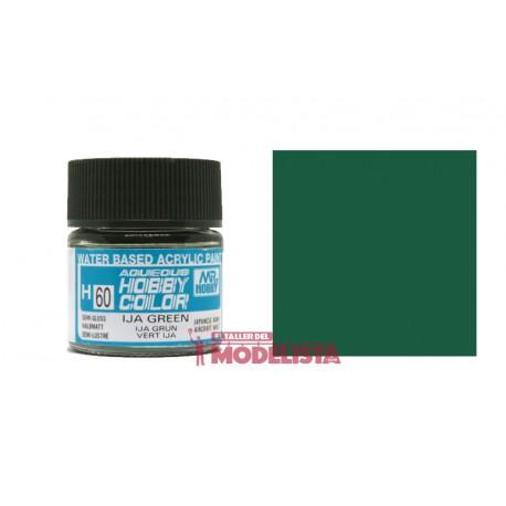 Verde IJA 10 ml. Gunze Sangyo. HOBBY COLOR H060