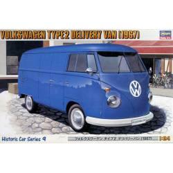 Volkswagen T2 Delivery Van, 1968.