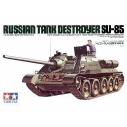 SU-85, cazacarros soviético.