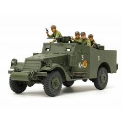 M3A1 scout car, w/ figures.