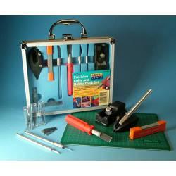 Maletín de herramientas de precisión.