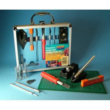 50 piece Knife & Tool Set. MODELCRAFT PKN1050/CM
