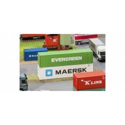 """40' Container """"Evergreen""""."""