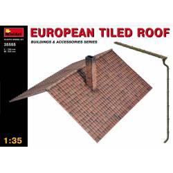 European tiled roof.