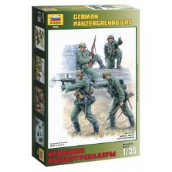 German halftrack crew.