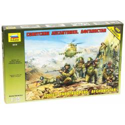 Soviet paratroopers, Afghanistan.