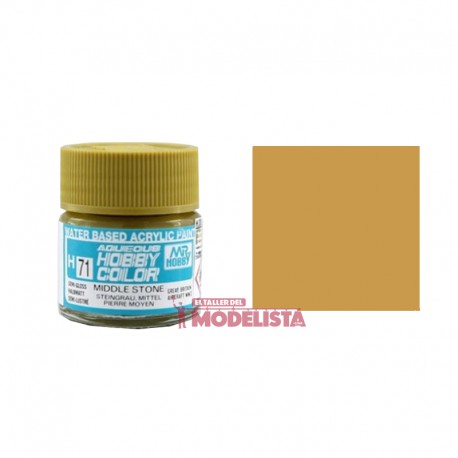 Piedra medio 10 ml. Gunze Sangyo. HOBBY COLOR H071