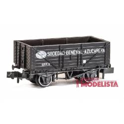 "Closed wagon ""Sociedad General Azucarera""."