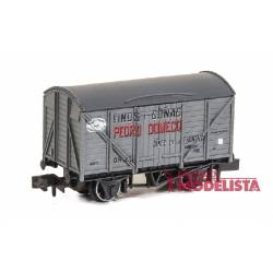 "Closed wagon ""Pedro Domecq""."