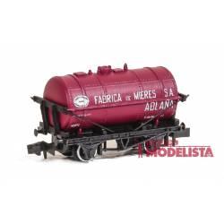 "Vagón cisterna ""Fábrica de Mieres""."