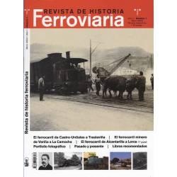 Revista de Historia Ferroviaria nº 1