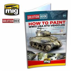 How to paint WWII USA ETO Vehicles.