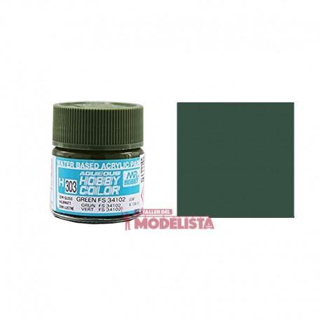Verde FS34102 10 ml. Gunze Sangyo. HOBBY COLOR H303