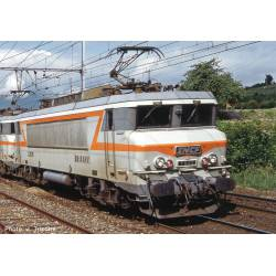 Electric locomotive BB 7200, SNCF. Sound.