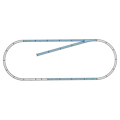 Geoline track set B.