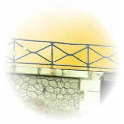 Guardrail for bridge. PN SUD MODELISME 87703