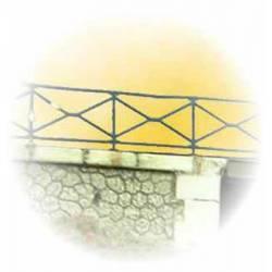 Guardrail for bridge.