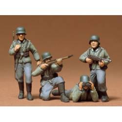 Infantería alemana.