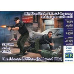 Agentes Jack Melgoza y Sally Taylor.
