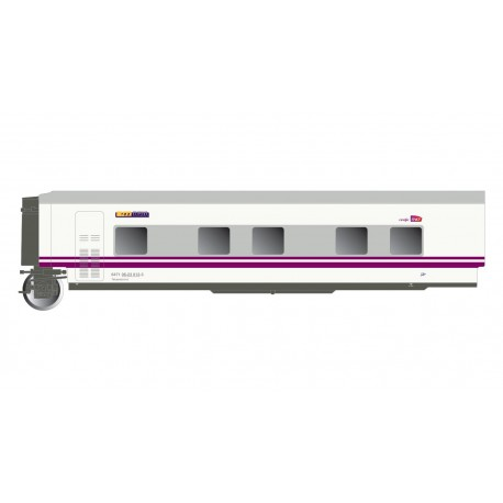 "Train ""Elipsos"" coach TWL6, RENFE-SNCF."