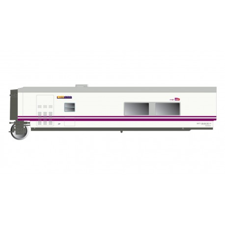 "Train ""Elipsos"" cafeteria coach TC6, RENFE-SNCF."