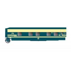 Trenhotel Talgo, coche cama. RENFE.